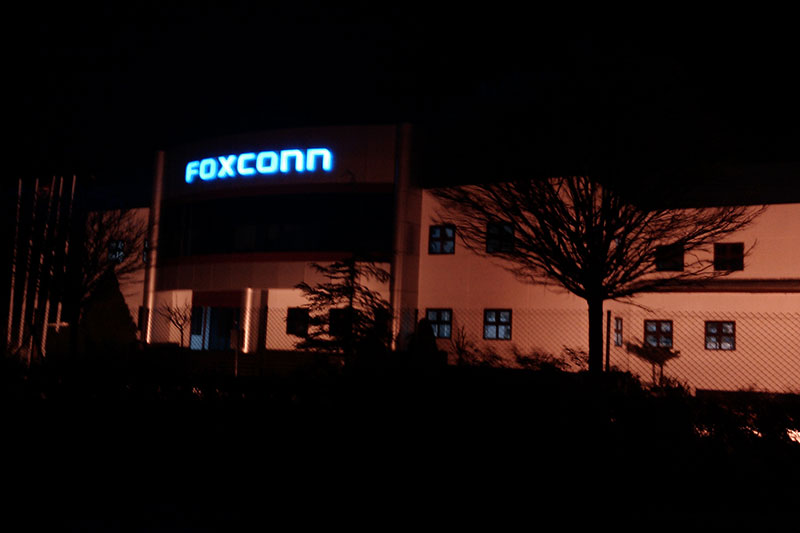 Çorlu'daki HP-Foxconn bilgisayar fabrikasından fotoğraflar