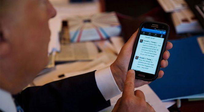 Başkanlık Twitter'da böyle el değiştirdi