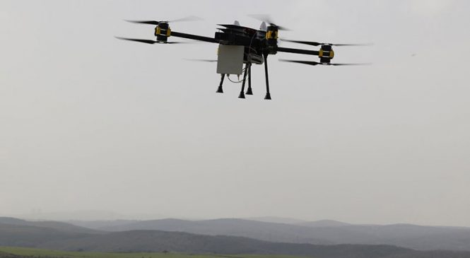 Türkiye'nin ilk uçan baz istasyonu: Dronecell