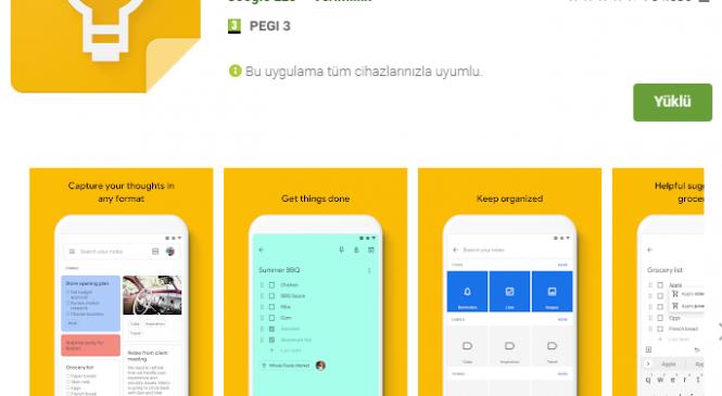 Akıllı not defteri Google Keep alternatifi uygulamalar