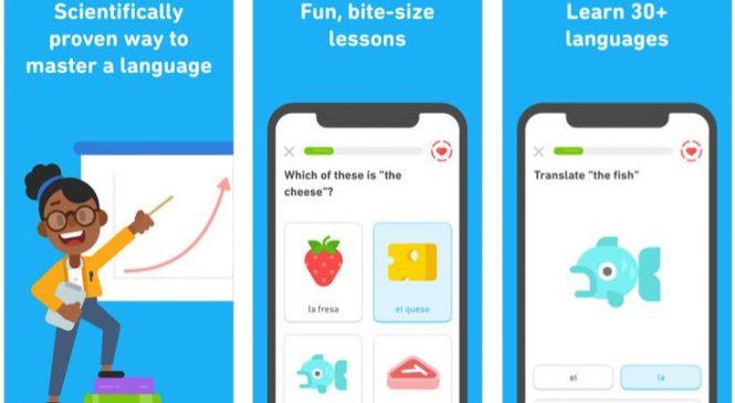 Yabancı dil öğreten mobil uygulamalar