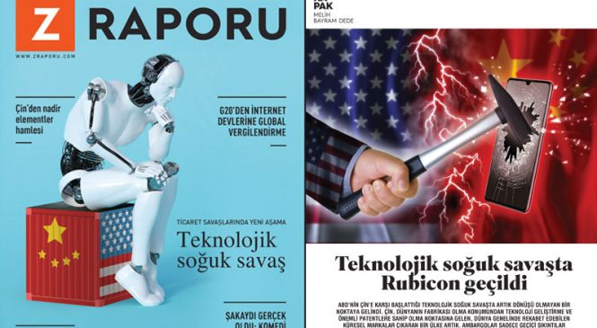 Teknolojik savaşta Rubicon geçildi