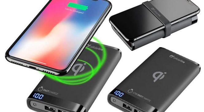 Kablosuz şarj destekleyen taşınabilir bataryalar