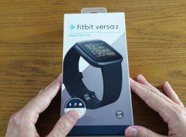 Fitbit Versa 2 akıllı saat kutu açılışı