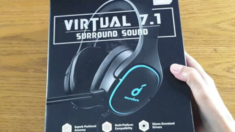 Anker SoundCore Strike 3 oyuncu kulaklığı kutudan çıkıyor