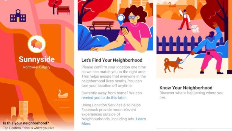 Facebook komşularımızla ilişkimizi geliştirmek istiyor