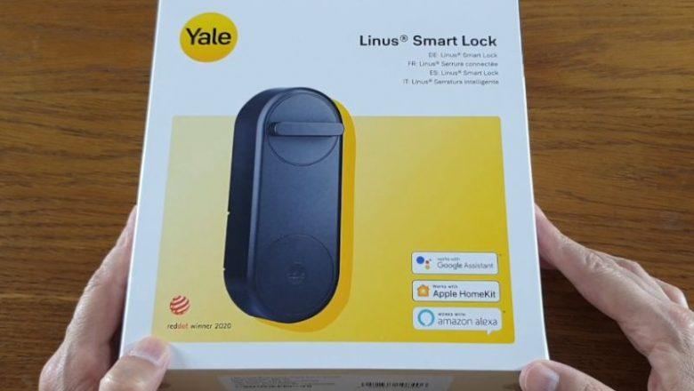 En teknolojik akıllı kilit | Yale Linus Smart Lock kutu açılışı