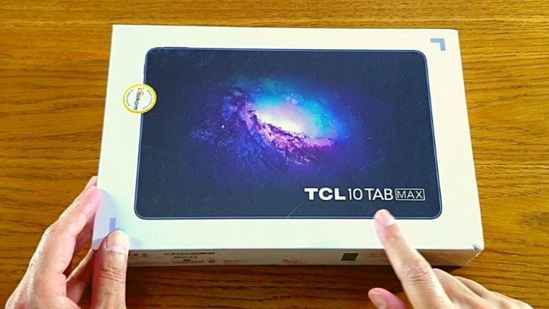 TCL 10 TAB MAX tablet bilgisayar kutu açılışı ve ön inceleme
