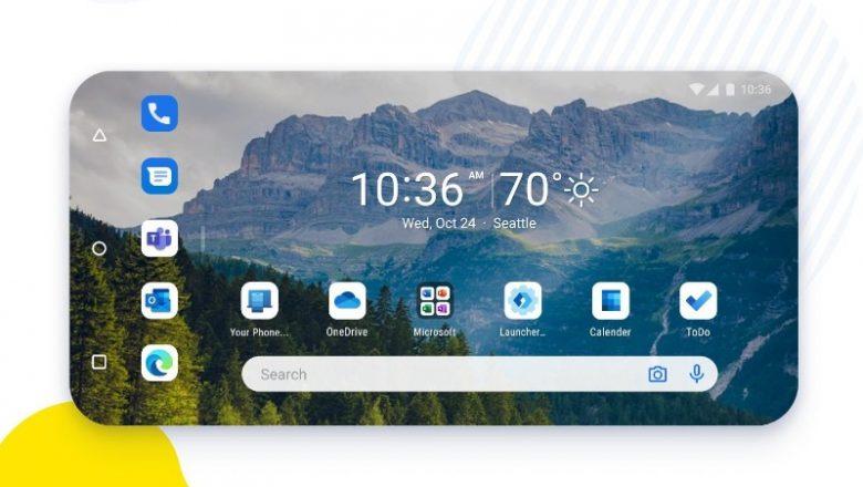 Android telefonunuza Microsoft deneyimi taşımanın yolu: Microsoft Başlatıcı