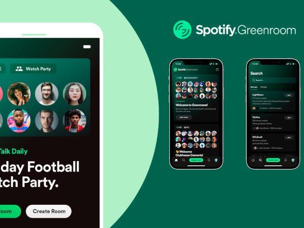 Spotify'ın Clubhouse'dan esinlenen hizmeti: Greenroom
